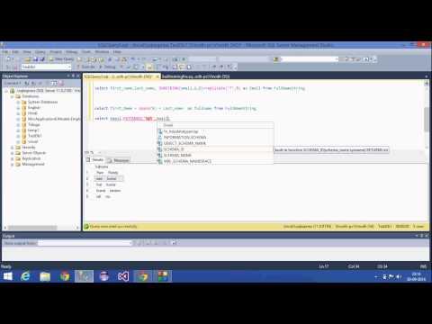 15.SQL Server Tutorial-Hindi(String Functions)