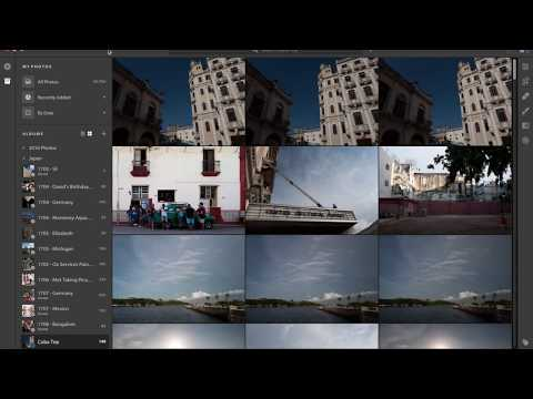 Lightroom CC Overview — Using Lightroom to Cull Photos