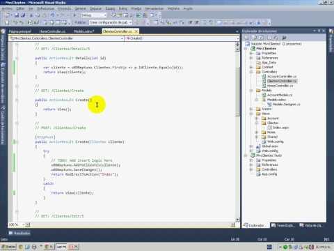 Entity Framework en ASP.NET MVC 2