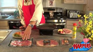Cooking Country Ham in a Skillet