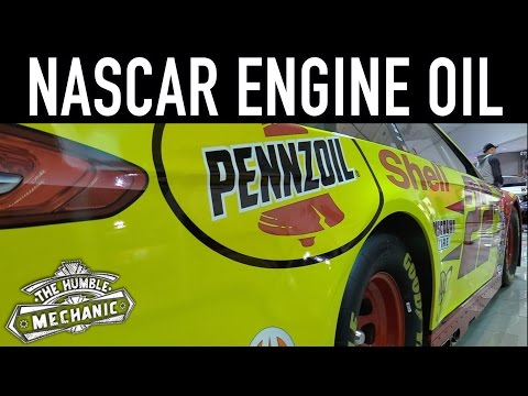 Your Synthetic Engine Oil vs NASCAR Synthetic Oil
