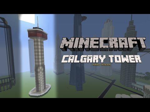 Minecraft Calgary Tower + Tutorial
