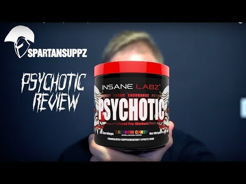 Insane Labz  - Psychotic (Stimulant) Pre workout Review