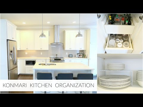 KonMari Method   Simple Kitchen Organization Inspiration 2018