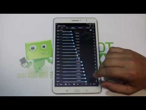 Galaxy Tab Pro 8.4 Overclocked to 2.72GHZ with Beasts Mode Kernel