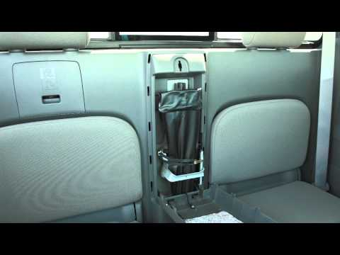2013 NISSAN Frontier - Spare Tire and Tools