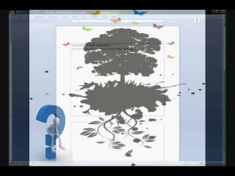 How to make a note cards in microsoft word 2007