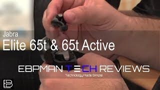 CES 2018 | First Look - Jabra Elite 65t & 65t Active Bluetooth Wireless Earbuds