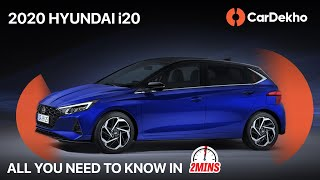 2020 Hyundai i20 India Launch In September | Check Out Design, Features and Engines #In2Mins |