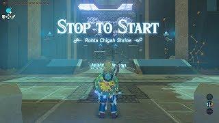 Rohta Chigah Shrine - The Champions Ballad DLC The Legend Of Zelda Breath Of The Wild