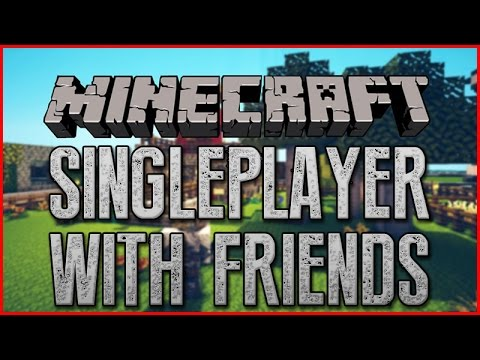 How To Play Minecraft With Friends Singleplayer (Minecraft 1.8.8 , 1.8.9)