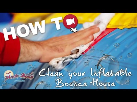 Clean your Inflatable Bounce House: HOW TO | Magic Jump, Inc.