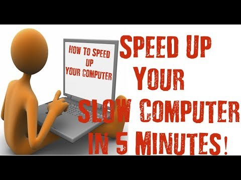 How To Speed Up Your Old Computer Like New One!