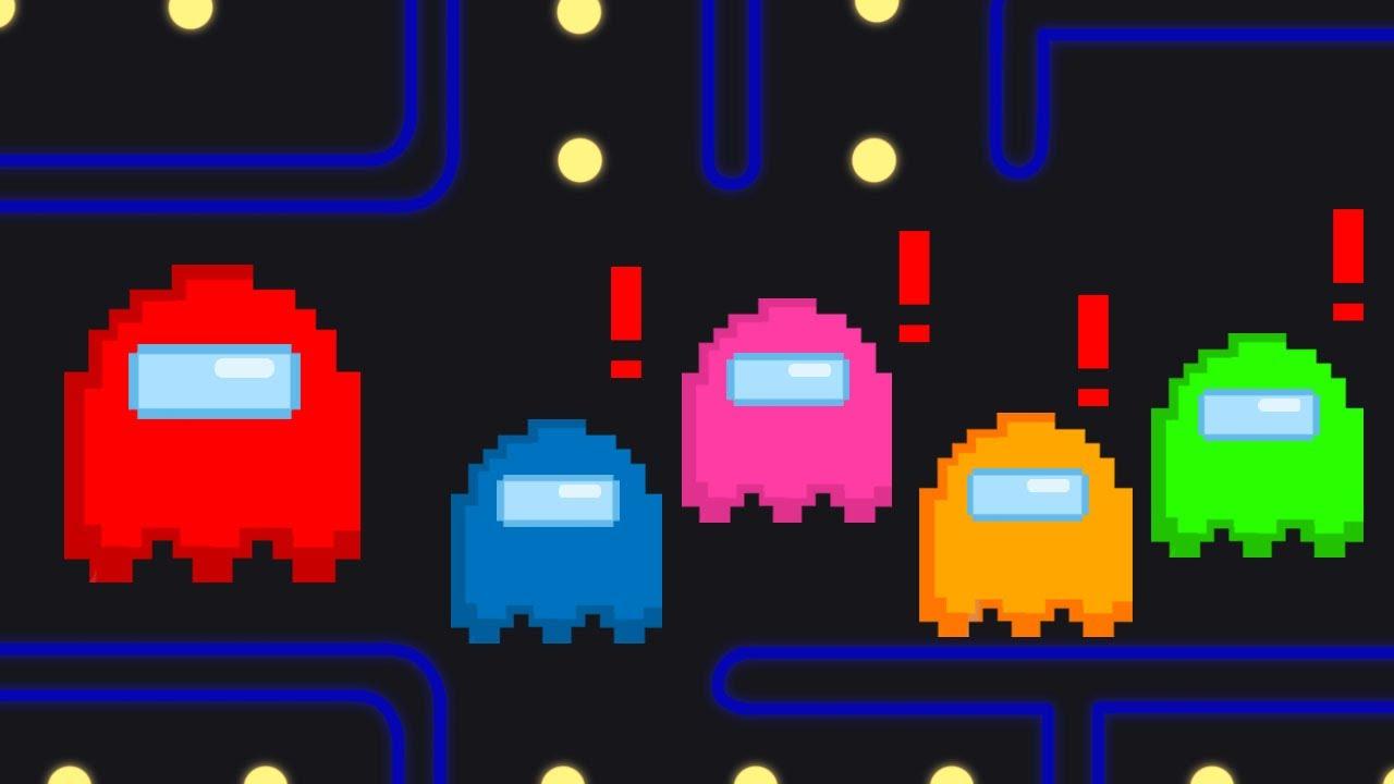 Among Us, But Its Pac-Man