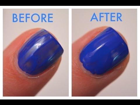 How To: Fix Streaky Nail Polish!
