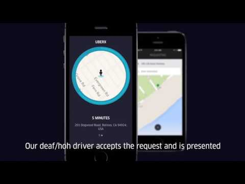Features For Deaf and Hard-of-Hearing Partners | Uber cab service