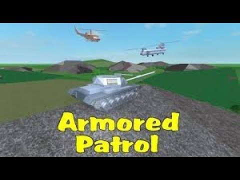 Armored patrol with Johnmcawesome!