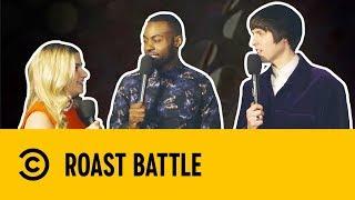 Tom Ward & Darren Harriott with Harriet Kemsley | Post Roast | Roast Battle