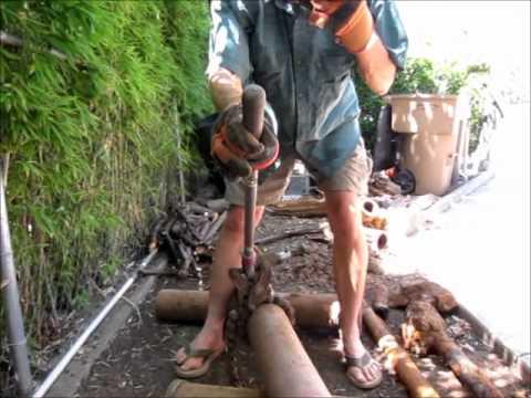 Soil Pipe Cutter Demo
