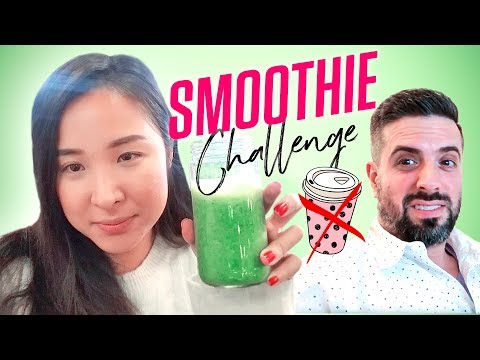 5 days of NO COFFEE | Smoothie Challenge