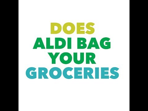 Does aldi bag your groceries