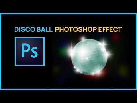 Photoshop CS4: How to Make DISCO BALL Part 2
