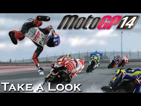 MotoGP 14 - X360 PS3 Gameplay (XBOX 360 720P) Take a Look