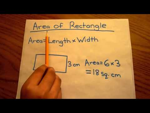 Area of Square, Rectangle, and Parallelogram - VERY EASY  calculation