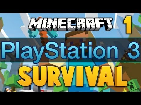 Minecraft PS3 ★ SURVIVAL, Ep.1 ★ Dumb and Dumber