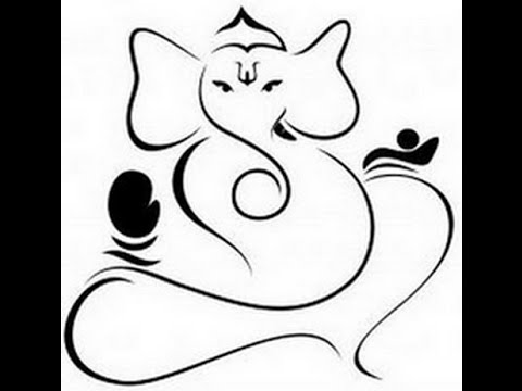 Learn how to draw Ganesha Drawing - Free Hand Drawing for kids