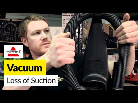 How to fix loss of suction in a Bissell vacuum -- Bissell Powerforce Bagless Vacuum Cleaner