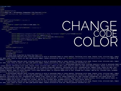 Change Code Color Theme - Dreamweaver CS6