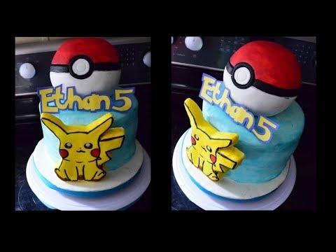 Pokemon cake 💥 pastel de pokemon 🎂