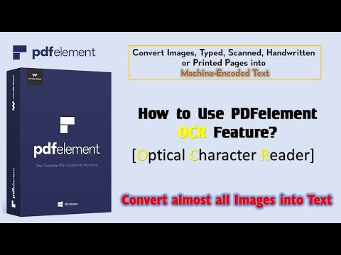 How to Convert an Image to Text using OCR | WonderShare PDFElement
