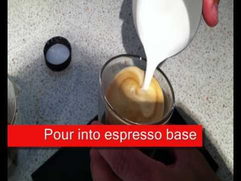 How to steam milk for coffee flat white or capuccino
