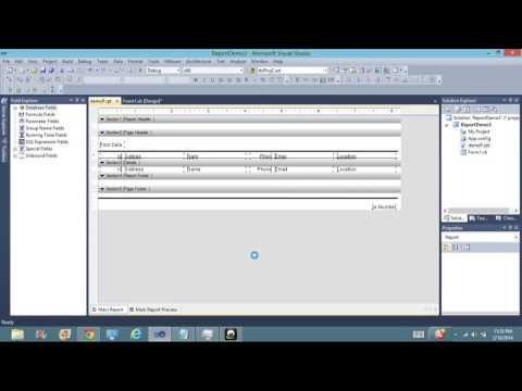 Making a Report with Crystal Report in Visual studio 2010 With Microsoft Sql Server 2008