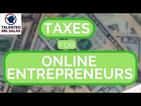 🏦 🏦 🏦 Taxes for Online Entrepreneurs 🏦 🏦 🏦 Paying Taxes from PayPal & Stripe Accounts 🏦