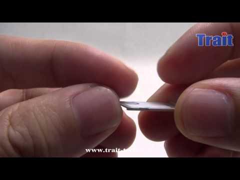 Nano cutter-Cut your Micro Sim to Nano sim and insert in iPhone 5