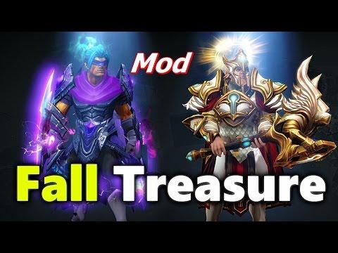 Dota 2 Fall 2016 Treasure Mod (All Sets)+ Autumn Terrain map Mod Free