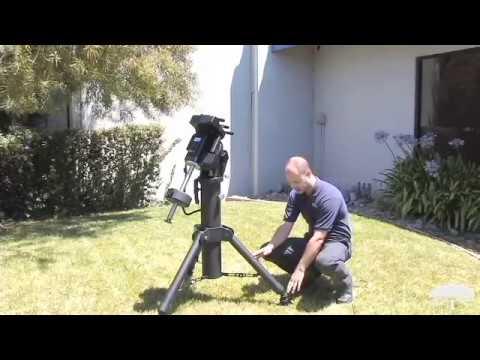Features Orion HDX110 EQ G GoTo Equatorial Mount Tripod Pier - Orion Telescopes