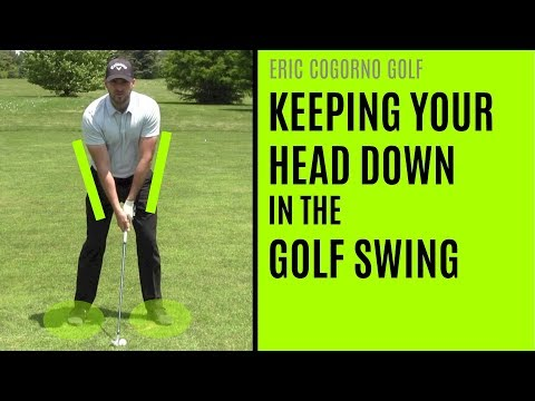 GOLF: How To Keep Your Head Down In The Golf Swing (And Why You're Really Hitting Topped Shots)