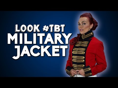 Look #TBT | Military Jacket w/ Kandee Johnson