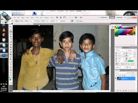 how to create fake photos with photosope.wmv