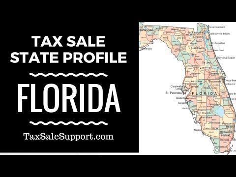 Florida Tax Lien & Tax Deed Basics: State Overview!