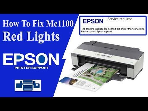 Epson Me1100 Resetter | Epson Adjustment Program
