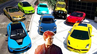GTA 5 - Stealing MISSION IMPOSSIBLE Movie Vehicles with Franklin! (Real Life Cars #101)