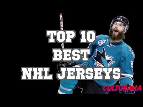 Top 10 Best NHL Jerseys: Watch the Best looking Sports Uniforms in Hockey!