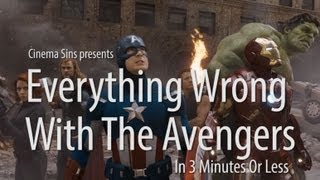 Everything Wrong With The Avengers In 3 Minutes Or Less