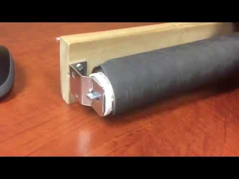 How to Re-tension Cordless Spring Roller Shades