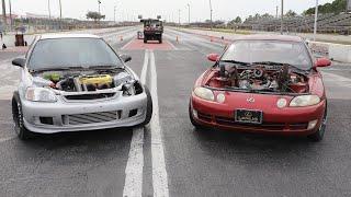 BIFB VS TAVARISH Drag Race - WINNER TAKES BOTH CARS